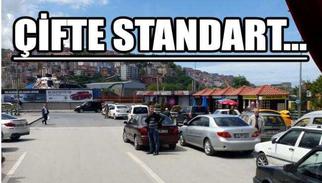Çifte standart…