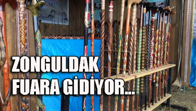 Zonguldak fuara gidiyor...