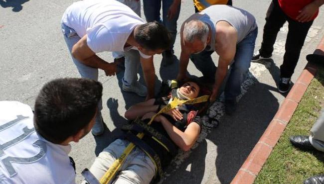 Yine motosiklet, yine kaza... 17 yaşındaki genç yaralandı
