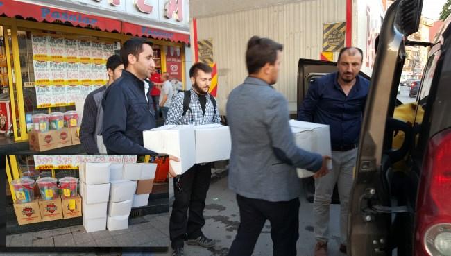 Zonguldak'tan Türkmenlere yardım eli...