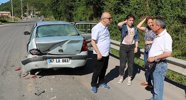 Kızının kazandığı okula bakmaya gidiyordu... Kaza geçirdi...
