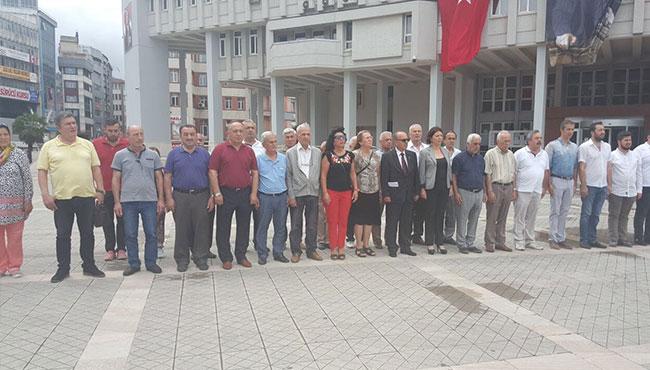 CHP Demokrasi Şehitlerini andı...