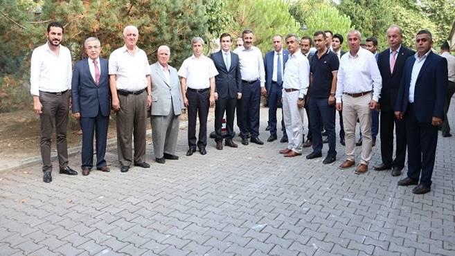 Vali Çınar Çanakçılar Seramik'te...