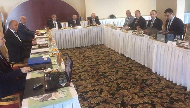 Ekim ayı toplantısı Zonguldak'ta yapıldı...