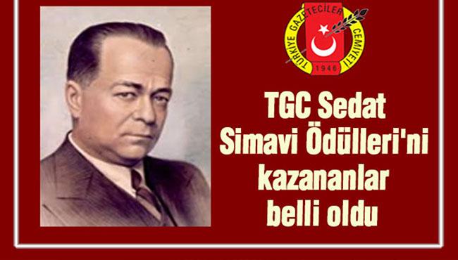 TGC Sedat Simavi Ödülleri'ni kazananlar belli oldu...