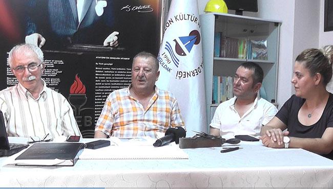 Zonguldaklı berberler Elmas TV'de...