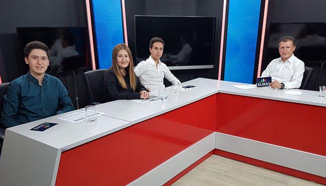 Spor muhabirleri Elmas TV'de konuştu...
