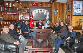 Gazeteciler Cemiyeti'nden GMİS'e ziyaret...