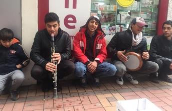 Gazipaşa'da mini konser