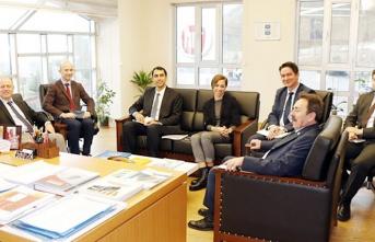 İsmail Çorumluoğlu ve Saim Eskioğlu, Acar ile bir araya geldi...