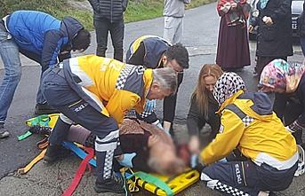 Yaşlı kadın ağır yaralıydı... Hayatını kaybetti...