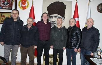 Tayfun Demir'den ZGC'ye ziyaret...
