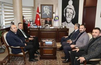 Alan, Eroğlu ile TTK'ya alınacak işçi konusunu görüştü...