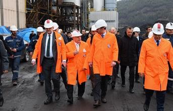 Bakan Murat Kurum, çevre yatırımlarını inceledi...