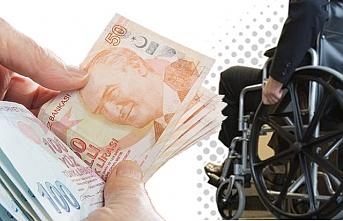 Engelli maaşları belli oldu...