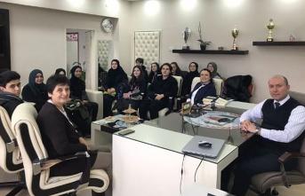 İl Milli Eğitim Müdür Vekili Murat Kapıcı'ya ziyaret