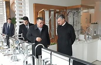 Vali Erdoğan Bektaş, firma ziyaretlerine devam ediyor...