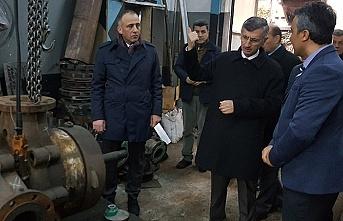 Vali Erdoğan Bektaş incelemelerde bulundu...