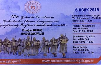 Vali Erdoğan Bektaş'tan davet var!