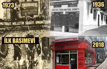 Zonguldak'ta ilk basımevi...