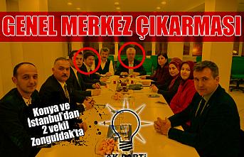 AK Parti'den Zonguldak'a genel merkez çıkarması