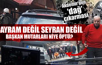 Başkan Akdemir'den muhtarlarla 'dağ' buluşması