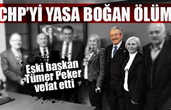 CHP'li eski başkan Tümer Peker hayatını kaybetti