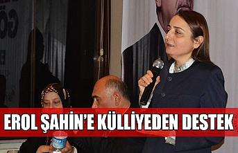 Erol Şahin'e Külliyeden destek...