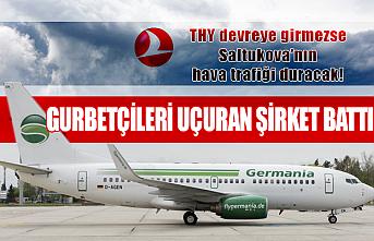 German Havayolları battı, Almanya Zonguldak hattı koptu