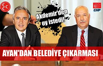 Hamdi Ayan Zonguldak Belediyesi'nde… Akdemir'den oy istedi!