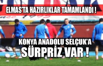 Konya Anadolu Selçuk'a sürpriz var! Hazırlıklar tamamlandı...