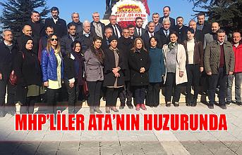 MHP'liler ATA'nın huzurunda
