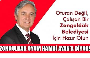Zonguldak oyum Hamdi Ayan'a diyor...