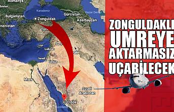 Zonguldak'tan umreye aktarmasız erişim imzası