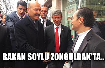 Bakan Soylu Zonguldak'ta...