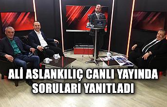 Bu açıklamalar çok konuşulacak… Ali Aslankılıç soruları yanıtladı!