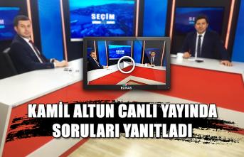 Kamil Altun Canlı yayında soruları yanıtladı