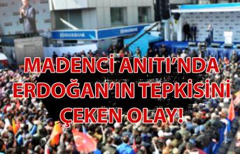 Madenci Anıtı'nda Erdoğan'ın tepkisini çeken olay!