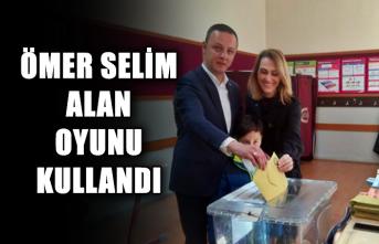 Ömer Selim Alan oyunu kullandı...