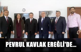 Pevrul Kavlak Ereğli'de...