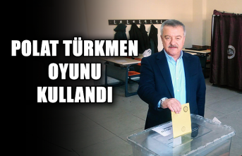 Polat Türkmen oyunu kullandı...