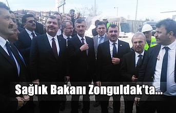 Sağlık Bakanı Zonguldak'ta...