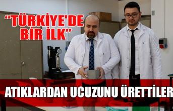 """""""Türkiye'de bir ilk!"""" Atıklardan ucuzunu ürettiler..."""