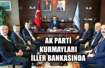 AK Parti kurmayları İller bankasında...