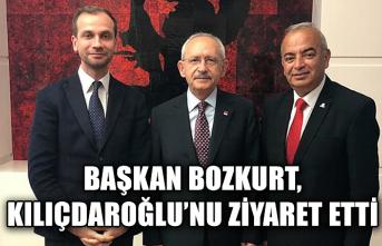 Başkan Bozkurt, Kılıçdaroğlu'nu ziyaret etti...