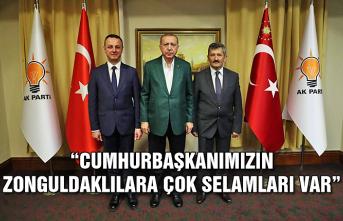 Başkan Selim Alan: 'Cumhurbaşkanımızın Zonguldaklılara Çok Selamları Var'