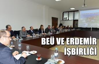 BEÜ ve Erdemir işbirliği...
