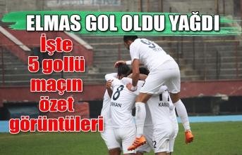 Elmas gol oldu yağdı! işte 5 gollü maçın özet görüntüleri..
