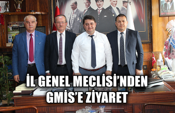İl Genel Meclisi'nden GMİS'e ziyaret...