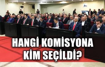 İlk Belediye Meclisi ve seçimler yapıldı... Hangi komisyona kim seçildi?